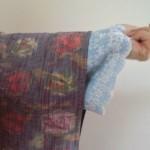 普段着の着物の襦袢は簡単&楽々にしてます。