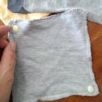 簡単布ナプキンの作り方。タンポン、月経カップの補助としても。