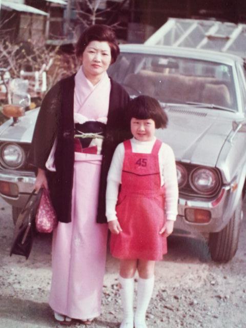 小学校入学 母と私