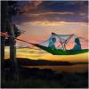 ハンモック?テント?掛け合わせたおもしろいテント発見!ユニークなエアテント テントサイル Tentsile