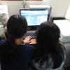 マインクラフトを使って無料プログラミング学習サイトで子供たちが体験。