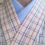 夏着物用替え襟にひんやり素材を選んでみた。